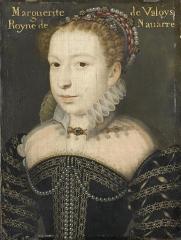 Marguerite de valois d apres Clouet